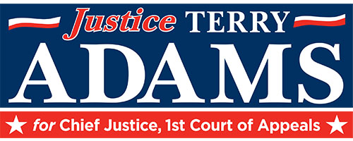 Terry Adams For Chief Justice